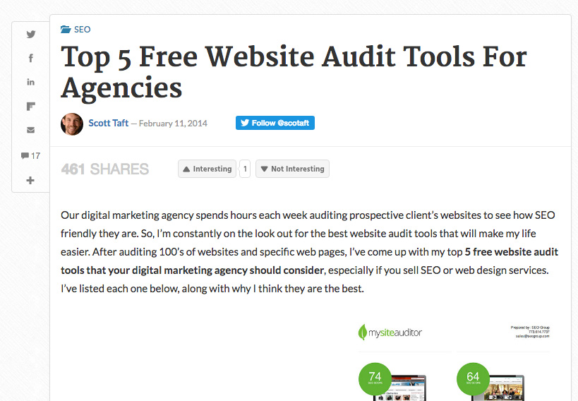 top SEO website audit tools for seo agencies and consultants